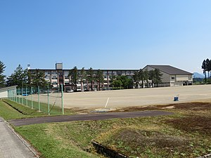 Yamagata Prefectural Shinjō-Kamuro Industrial High School Mamurogawa Branch School 1.jpg