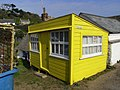 Yellow hut, Cadgwith - geograph.org.uk - 989464.jpg