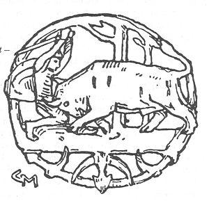 Ongentheow - Illustration by Gerhard Munthe (1899)