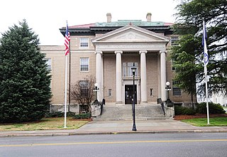 York County Courthouse United States historic place