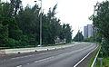 Yu Tung Road near Cheung Tung Road, Tung Chung (Hong Kong).jpg