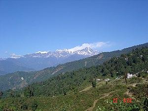 Yuksom - Countryside en route to Yuksom from Gangtok