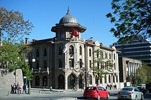Tekel - Tekel Building (1928) in Ankara, currently the Yunus Emre Institute headquarters.