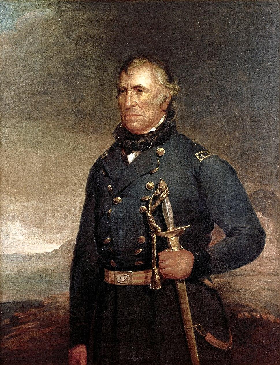 Zachary Taylor by Joseph Henry Bush, c1848
