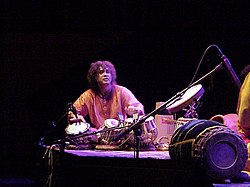 Zakir Hussain in Munich 2001}