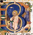 Zanobi Strozzi - Initial B with David in Prayer - WGA21940.jpg