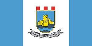 Ljubuški - Image: Zastava Ljubuski
