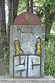 Zdewastowany pomnik Armii Czerwonej przy ulicy Elizy Orzeszkowej w Będzinie 3.jpg