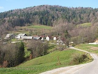 Knezdol Place in Styria, Slovenia