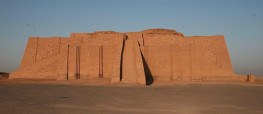 Ziggurat of Ur, Wikimedia Commons