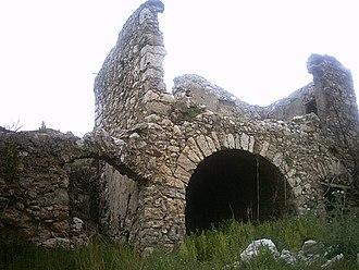 Cianciana - An abandoned zolfara (sulfur mine) near Cianciana.