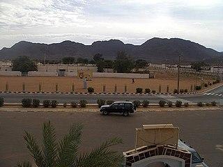 Tiris Zemmour Region region of Mauritania