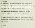 """""""Conclusion"""" of May 10, 1963 report by Yoshiro Taniguchi, from- The Peace Pagoda - Its Beauty and Its Spirit (page 15 crop).jpg"""