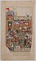"""Ottoman Army Entering a City"", Folio from a Divan of Mahmud `Abd al-Baqi MET sf45-174-5.jpg"