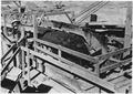 """Transfer point on belt conveyor system."" - NARA - 294120.tif"