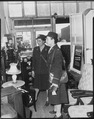 """WAAC officers go shopping...soon after their arrival at Fort Huachuca, Arizona, these two officers (3d Officers Vera Ha - NARA - 531154.tif"
