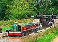 """Zachariah Keppel"" entering Brewhurst Lock, Wey and Arun Canal - geograph.org.uk - 1436620.jpg"