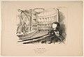 'Les Bulos Graves', Victor Hugo at his play 'Les Burgraves', from 'La Caricature' MET DP818603.jpg