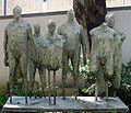 'The Atelier', plaster and iron sculpture by Ofer Lellouche (Israeli) , 2001, Tel Aviv Museum of Art, Tel Aviv, Israel.jpg