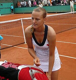 Ágnes Szávay - Ágnes Szávay at Roland Garros, 2008