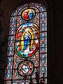 Église Notre Dame et Saint-Junien de Lusignan, vitrail 10.JPG