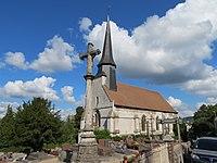Église Saint-Jacques-le-Majeur - église + enclos.JPG