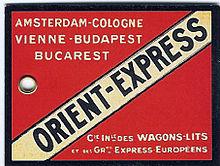 Orient express wikipedia - Compagnie des wagons lits recrutement ...