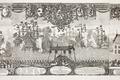 Örlogsfartyg skjuter salut på Karl X Gustavs begravning, 1660-talet - Livrustkammaren - 108752.tif