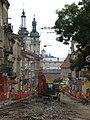 Вежа храму Святого Апостола Андрія Первозванного та собор Святого Юри УГКЦ. - panoramio.jpg