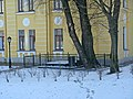 Дом ветеранов сцены. Могилы Савиной и Молчанова02.jpg