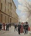 И. С. Розен. Гвардейский экипаж в Париже. 1814 год.jpg