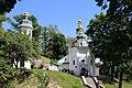 Комплекс споруд Iллiнського монастиря Чернігів, вхід до печер.jpg