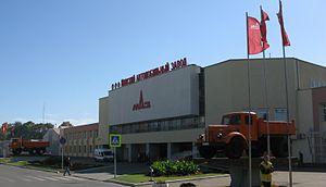Automotive industry in Belarus - MAZ factory in Minsk