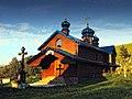 Михайлівська церква, вигляд з боку дзвіниці.jpg
