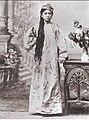 Молодая жена Эмира Бухары Сеид Алим-хана 1916.jpg