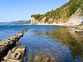 Пляж у скалы Киселёва.jpg