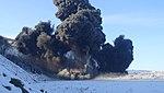 Подрыв обрушенных скальных пород на Бурейском водохранилище 33.jpg