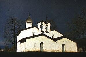 Церковь Покрова и Рождества от Пролома (Псков)