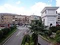 Скопје, Р. Македонија , Skopje, R. of Macedonia 01.04.2013 ( Порта Македонија , Gate Macedonia ) - panoramio (1).jpg