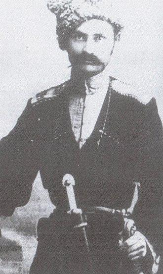 Ivan Sorokin - Ivan Lukich Sorokin in traditional Kuban cossack costume