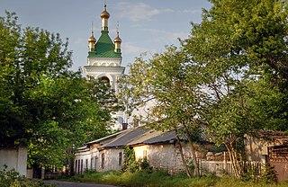 Kiliia City in Odessa Oblast, Ukraine
