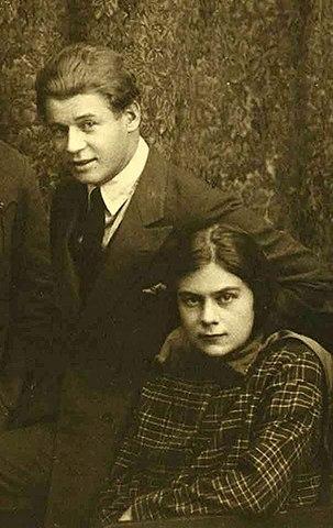 Есенин и Софья Андреевна Толстая, 1925