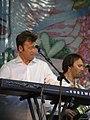 Чувелёв и Чекрыжов на концерте в Донецке 6 июня 2010 года 004.JPG