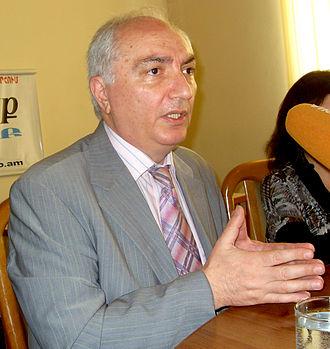 Aram Gaspar Sargsyan - Image: Արամ Գ. Սարգսյան 04