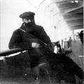 הרצל תיאודור באניה המובילה אותו לארץ- ישראל ( 1989 ) .-PHG-1001994.png