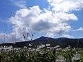 初秋の烏帽子岳(Mt. Eboshi of the early fall) - panoramio.jpg
