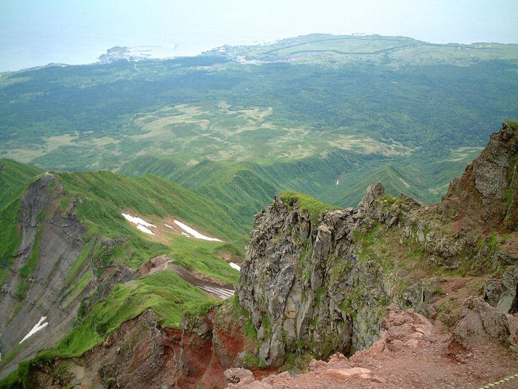 利尻富士からの眺め - panoramio