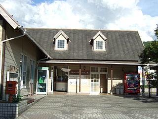 Yoshidaguchi Station railway station in Akitakata, Hiroshima prefecture, Japan