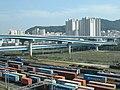 화물 열차 Busan Railway - panoramio.jpg