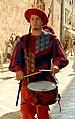 007 Canvi de guàrdia a la Porta de Pile (Dubrovnik), pel carrer Gran (Stradun o Placa).jpg